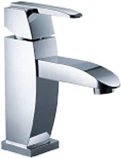 Fluid Faucets F20001BN Penguin Single Handle Bathroom Sink Faucet, Brushed Nickel, 1-Pack