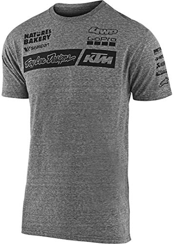 Troy Lee Designs T-Shirt KTM Team Grau Gr. L