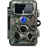 APEMAN Trail Camera 12MP 1080P HD Game&Hunting Camera with 130° Wide Angle Lens 120° Detection 42...
