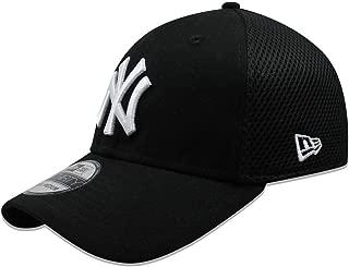New Era New York Yankees Neo 39THIRTY Unstructured Flex Ha Black
