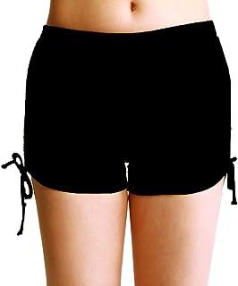 ZDUND Women's Plus Size Swim Shorts Boyleg Swimsuit Bottoms Tankini Swimwear Bottom Beach Swim Board Shorts(FBA) (2XL)