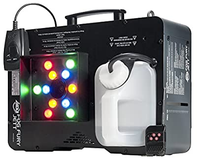 ADJ Products Fog Fury, JETT Stream COLR,12X3W RGB by ADJ Products