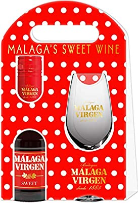 "Malaga Virgen 20cl Benjamin Giftpack - Sweet liquor wine D.O.""Malaga"""