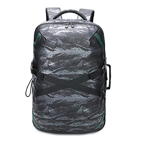 WZNB Rugzak Reistas voor mannen Laptop tas Rugzak voor mannen Outdoor Waterdicht 16 inch