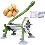 Best French Fry Cutters - French Fry Cutter Commercial Potato Slicer with Suction Review