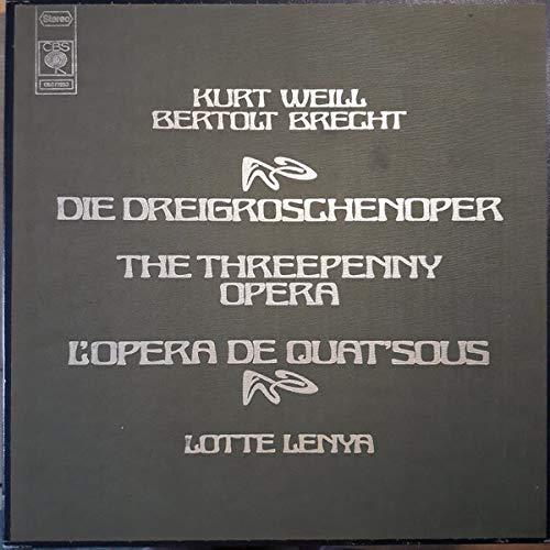 Kurt Weill / Bertolt Brecht - Lotte Lenya - Die Dreigroschenoper, The Threepenny Opera, L\'Opera De Quat\'Sous
