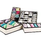 Aufbewahrungsboxen für Unterwäsche, BHs, Socken etc.