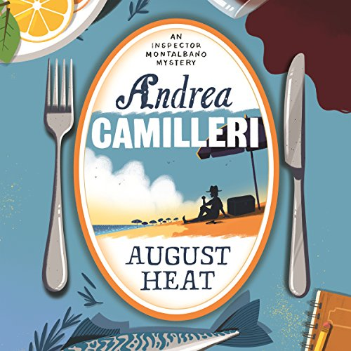 August Heat audiobook cover art