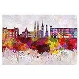 artboxONE Poster 60x40 cm Städte Linz Skyline in