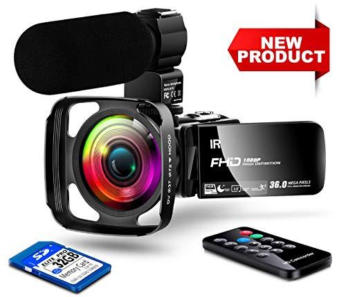 【New Upgrade】 Ultra HD Video Cam...