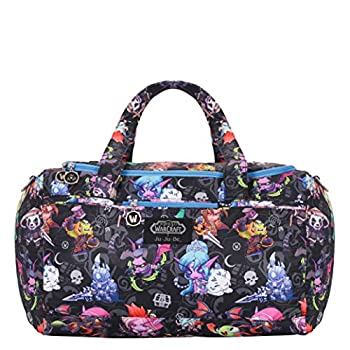 JuJuBe Starlet Large Overnight Duffle Bag World of Warcraft Collection - Cute But Deadly
