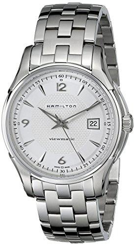 Hamilton Men's H32515155 Jazzmaster Viewmatic Silver Dial Watch