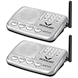Wireless Intercom System Hosmart 1/2 Mile Long Range 7-Channel Security Wireless Intercom System