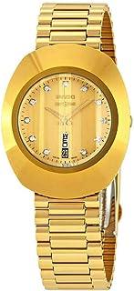 Rado The Original L Diamond Gold Dial Ladies Watch R12304303