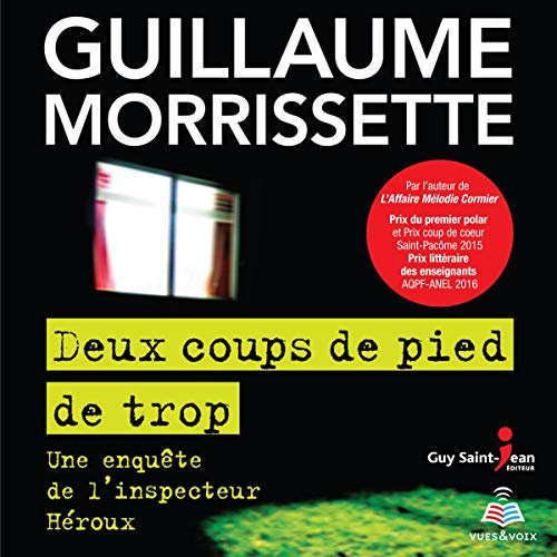 Deux coups de pied de trop [Two kicks too many] audiobook cover art