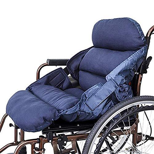 YUXINCAI Rollstuhl-Sitzkissen Dekomprimierung Anti-Dekubitus Rollstuhl-Kissen Kissen Startseite Out Rückenpolster Sind Waschbar