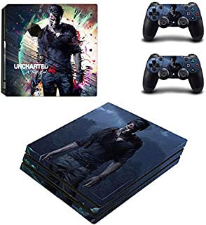 Playstation 4 Pro Skin Set – Skin Game - HD Printing Vinyl Skin Cover Protective for PS4 Pro Console and 2 PS4 Controller by ANIK RANGANATHAN.