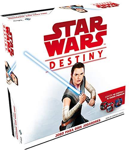 Star Wars Destiny - Pacote Inicial - Jogo para 2 Jogadores - Galápagos Jogos