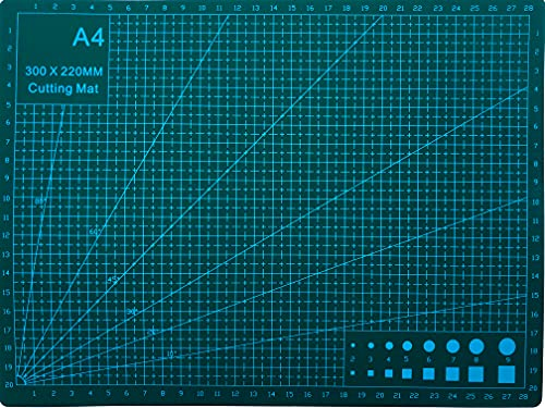 Bid Buy Direct - Materassino Per Taglio, Formato A4, Antiscivolo, Autoriparante