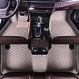 Maiqiken Alfombrillas de Coche Personalizadas para Chrysler PT Cruiser 2007-2009 de Piel, Impermeables, Antideslizantes, Cobertura Total, Alfombrilla Delantera y Trasera