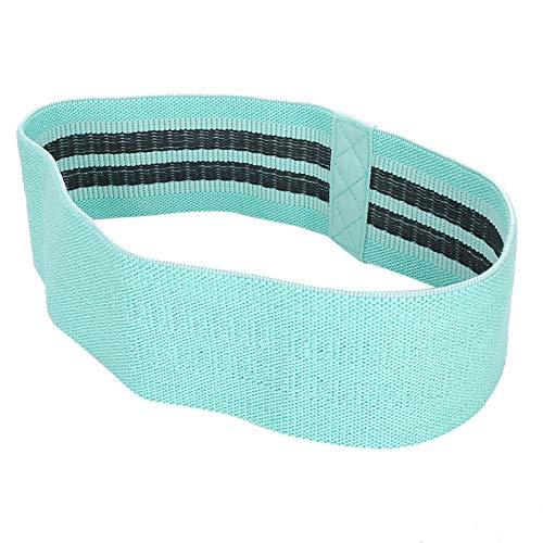 Bandas de resistencia para ejercicio, bandas de sentadillas, color azul, para yoga, fitness, entrenamiento, entrenamiento, para sentadillas, para el hogar, fitness, deportes