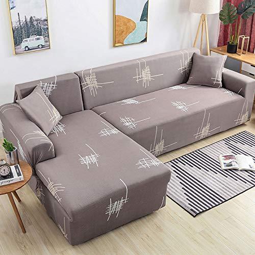 Sofabezug/Sofaüberzug/Sofahusse/Ecksofa Sofaschutz/Sofaüberwürfe/Couchbezug/Sesselbezug/Sofa Überwürfe/Stretch Hussen L Form 1/2/3/4 Sitzer,Color32-1~seat(90~140cm)