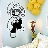 DIY Super Cartoon Vinilo Autoadhesivo Etiqueta de la Pared Arte del Juego para niños habitación decoración del hogar Fondo Pared Arte decoración 54x108cm