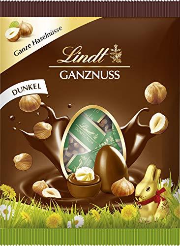 Lindt Mini-Eier, Ganznuss dunkel, Oster-Schokolade zum Verschenken oder selber Genießen, 1er Pack (1 x 86 g)