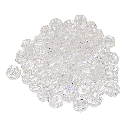 Kristallen parels d.10mm 10 stuks - regenboogkristal - Feng Shui - Esoteriek - vensterversiering - 30% Pbo loodkristal - kristallen behang - kroonluchter gordijn - kristallen lamp - kristallen bol