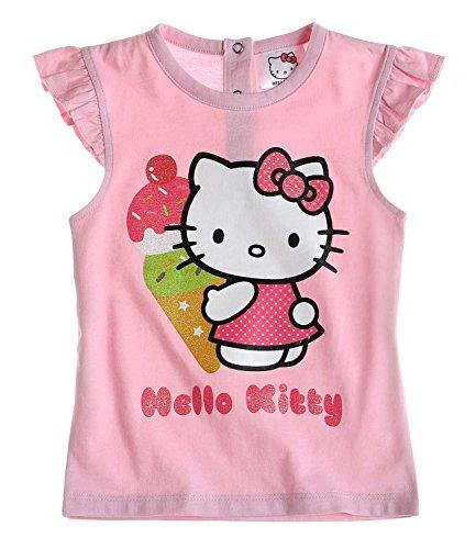 Hello Kitty T-Shirt Rose pour bébé (12 Mois)