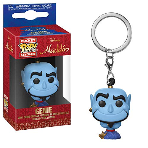 LAST LEVEL-Funko Llavero Pop Aladdin Genie, Color Mulitcolor