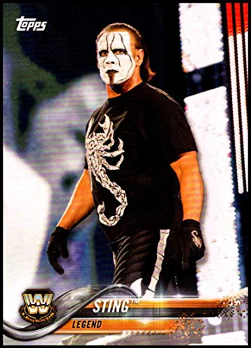 2018 Topps WWE Then Now Forever #199 Sting Wrestling Trading Card