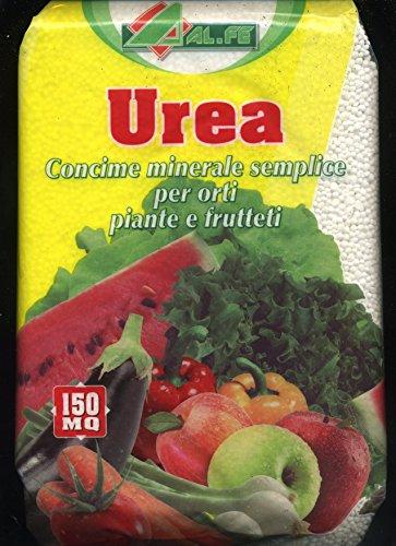 Alfe Natura UREA concime minerale semplice per orti piante e frutteti da 4 kg