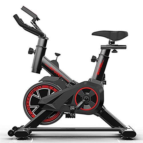 Heimtrainer Indoor Cycle Ergometer Mit LCD Anzeige,Armauflage,gepolsterte,8kg Schwungrad,Fitnessbike Speedbike Mit Flüsterleise Riemenantrieb-Fahrrad Ergometer Bis 150Kg