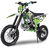Pitbike Motocicletta da Motocross 50cc NCX Moto Shot XXL 14/12 Verde