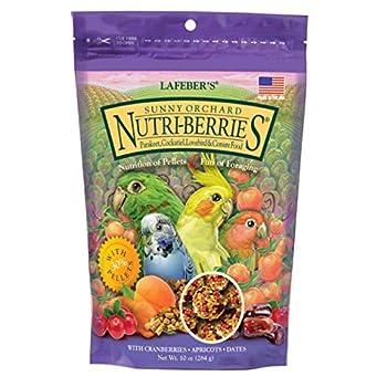 Lafeber? S Gourmet Sunny Orchard Nutri-Berries pour Sac de cacatoès 283,5Gram