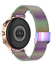 Correa de reloj Komi de 18/20/22 mm en malla de acero inoxidable fácil de quitar
