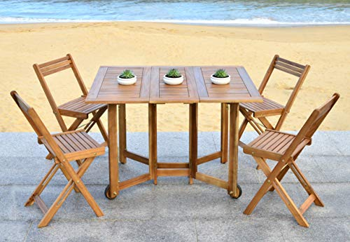 Safavieh Outdoor Living Collection Arvin 5-Piece Dining Set