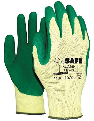 M-Safe 11-540 M-Grip Handschoen - Latex - 8/M