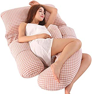 وسادة حمل قابلة للتعديل للجسم بالكامل من My Pick ae | شكل G | وسادة جسم كبيرة | للنساء الحوامل | وسادة عناق مطبوع عليها مر...
