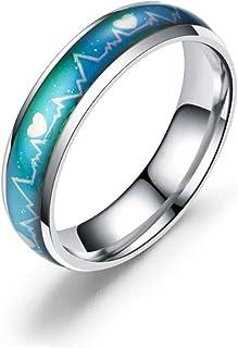 46e4e8d76d4a Amazon.es: anillo cambia color - Plateado