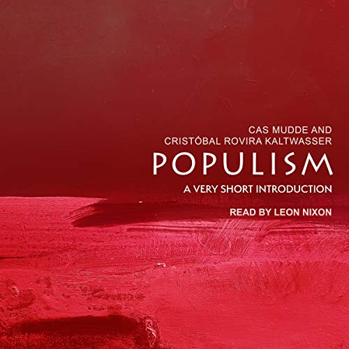 Populism audiobook cover art