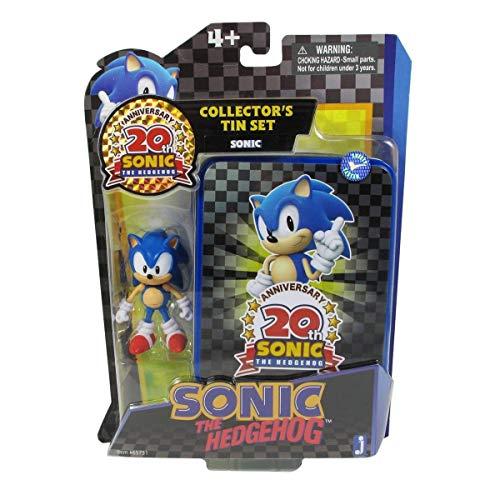 Sonic Mini-figure: Tin Collector anniversaire & Figure Series