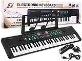 BSD Digitalpiano E-Piano Mit Mikrofon Keyboard MQ-605UFB -