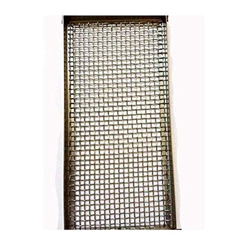 """BBQ Grill Screen 11 1/4"""" x 5 1/4"""" for Infrared Searing Grill Burner Fits Bull BBQ Grill Only OEM 20501"""