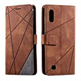 Galaxy A10 / Galaxy M10 Case, SONWO Premium Leather Flip