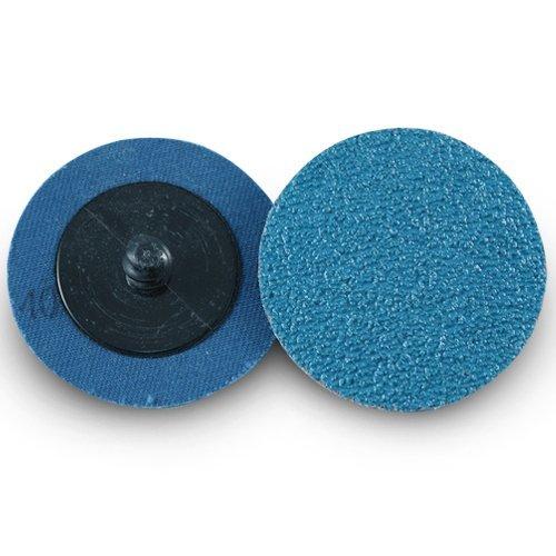 Vaorwne 41 Pcs Roloc Disques /à Changement Rapide Set 2 Pouces Zircone Disques de Pon?Age avec 1//4 Pouce Titulaire pour Die Grinder Rust Peinture Enl/èVement