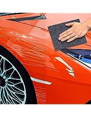 【全面再進化版】カースクラッチ修復 クロス 拭くだけで簡単 傷・スクラッチ・ステッカー跡・落書き消しリカーバリー 車 傷消し、拭くだけギズリペア、ステッカー跡消し ドアノブ爪の跡消し 拭くだけ簡単便利 車 キズ消し 特殊加工シート 多目的 修理 ポリッシュ ライトペイント スクラッチ ナノテクノロジー カー修理キット 擦り傷や擦り傷用