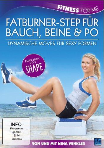 Fitness For Me: Fatburner-Step für Bauch, Beine & Po - Dynamische Moves für sexy Formen