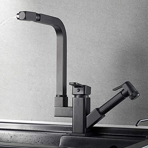 Leilims Pull-type water warm en koud water van Kuuml chenspuuml Le koper Pieno telescope Rotating Wauml spuuml Le Spuuml Le Spuuml Le Home B